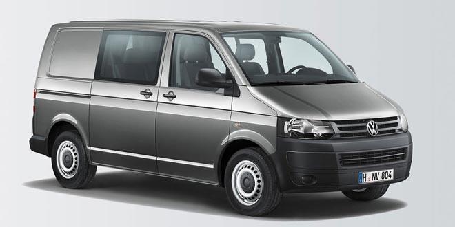 VW Transporter сделали в модификации Kombi Doka Plus