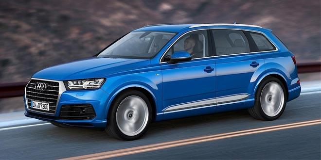 Второе поколение Audi Q7 досрочно рассекретили