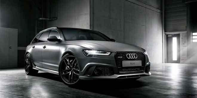 Универсал Audi RS6 принарядился к Новому году