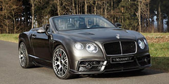 Mansory подготовил апгрейд для Bentley Continental GTC