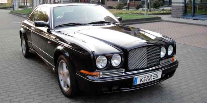 Продается Bentley Continental T Майка Тайсона