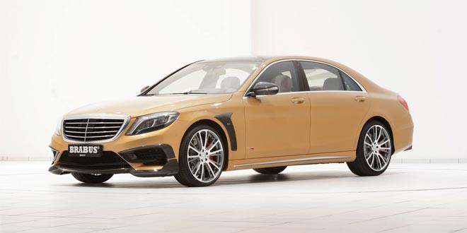 Brabus поработал над Mercedes-Benz S 63 AMG