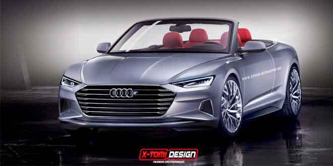 Рендер кабриолета Audi prologue от X-Tomi Design
