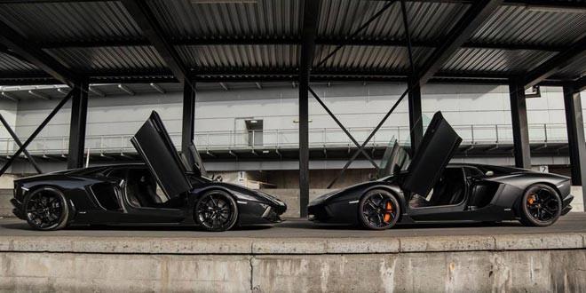 Twix-фотошот Lamborghini Aventador