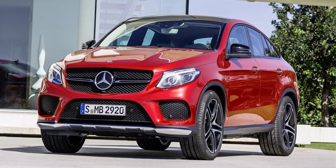 Mercedes-Benz GLE Coupe окончательно рассекретили