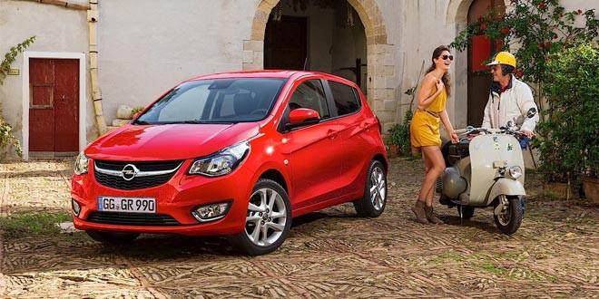 Opel выпустил компактный хэтчбек Karl