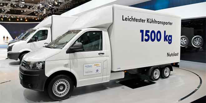 Экспериментальный фургон VW T5 удостоился награды в сфере логистики
