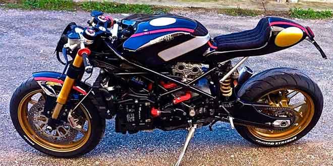 Кастом стритфайтера Ducati 999 Pirate Edition