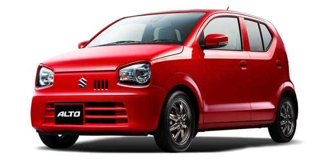 В Японии показали обновленный компакт Suzuki Alto