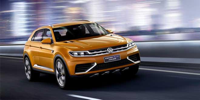 В Детройте покажут новый кроссовер Volkswagen