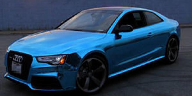 Audi RS5 в виниле от Impressive Wrap