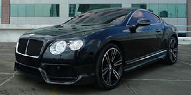 Bentley Continental GT в аэродинамическом пакете от Vorsteiner