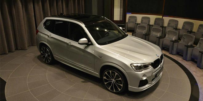 Кроссовер BMW X3 получил пакет M Performance