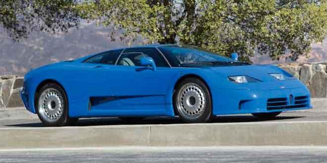 Bugatti EB110 GT ушел с молотка за 570 000 долл.