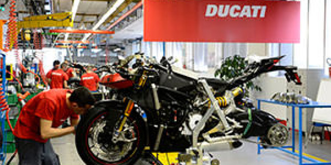За 2014 год компания Ducati продала рекордное количество мотоциклов