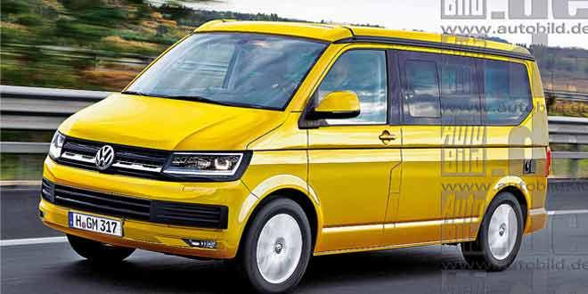 Новый Volkswagen Multivan покажут весной