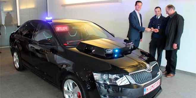 Бельгийская полиция купила Skoda Octavia vRS за 85 000 евро