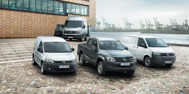 Подразделение Volkswagen Commercial Vehicles подвело итоги за 2014 год
