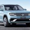 Концепт Volkswagen Cross Coupe GTE как намек на новый Tiguan