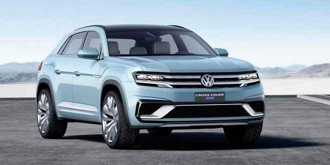Концепт Volkswagen Cross Coupe GTE как намёк на новый Tiguan