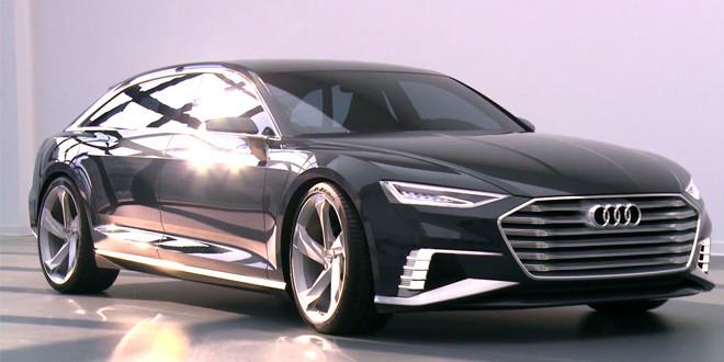 Концепт Audi prologue Avant сделал видео дебют