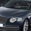 Рендер дешевого седана Bentley