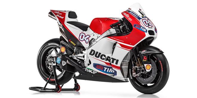 Опубликованы фотографии прототипа Ducati GP15