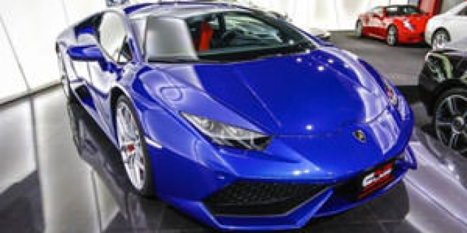 Lamborghini Huracan в фирменном цвете Ad Personam
