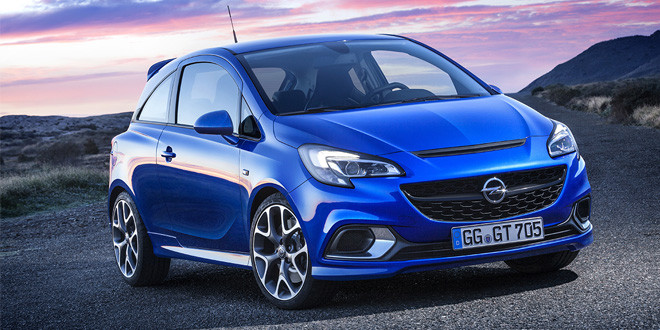 Представлен «горячий» городской хэтчбек Opel Corsa OPC
