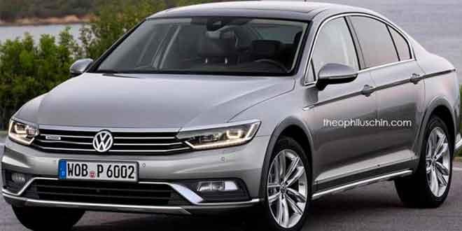 А что если бы Volkswagen Passat Alltrack стал седаном?