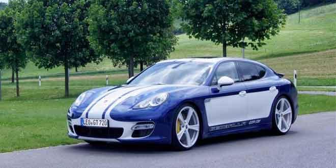 Тюнер Gemballa доработал Porsche Panamera