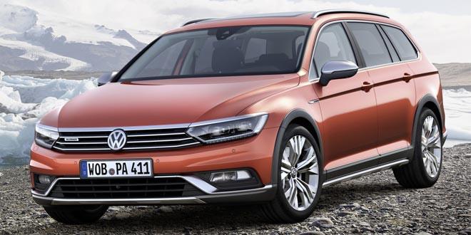 Volkswagen Passat B8 получил версию Alltrack