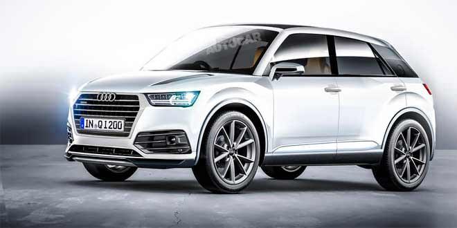 Серийный кроссовер Audi Q1 покажут в 2016 году