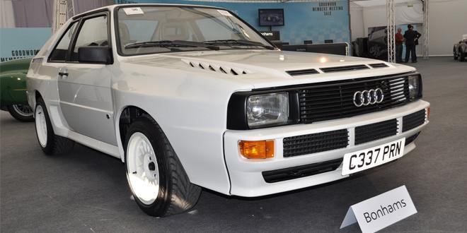 Ралли-кар Audi Quattro продан за рекордные 395 000 евро