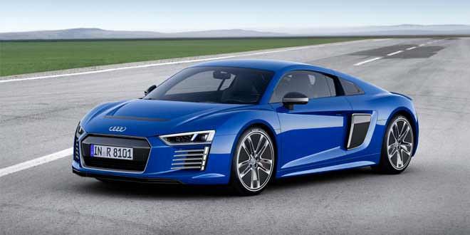 И всё-же они разные: Audi R8 e-tron показали в Женеве