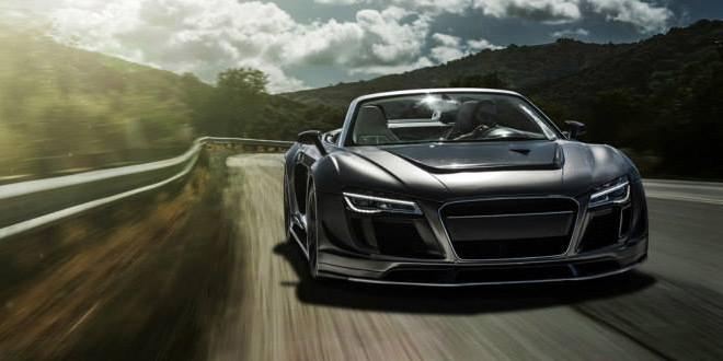 Audi R8 Spyder в боди-ките PPI Razor GTR