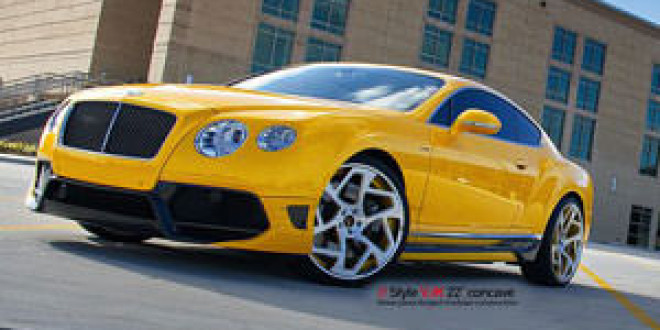 Bentley Continental GT прокачало ателье Progressive Autosports