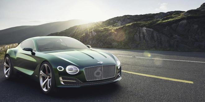 Концепт EXP 10 Speed 6 демонстрирует новое лицо Bentley