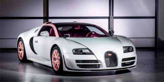 Еще один прощальный Bugatti Veyron Grand Sport Vitesse