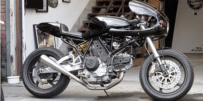 Кафе рейсер Ducati 900 SS Monkee #74 от Wrenchmonkees