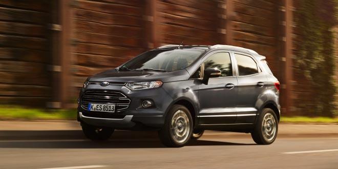 Ford показал обновленный мини-кросс EcoSport