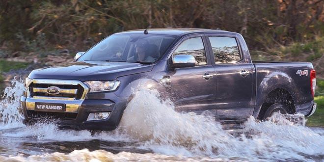 Компания Ford обновила пикап Ranger