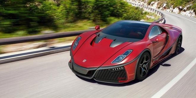 GTA Spano стал первым в мире суперкаром с графеновым кузовом