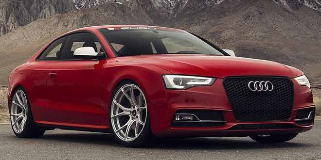 Импульсивная Audi S5 на графитовых дисках Vorsteiner