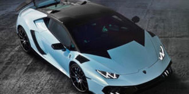 Mansory привез прокачанный Lamborghini Huracan в Женеву