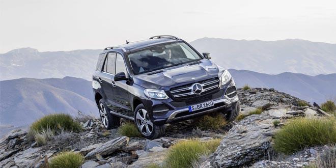 Обновленный Mercedes-Benz M-Class вышел под названием GLE