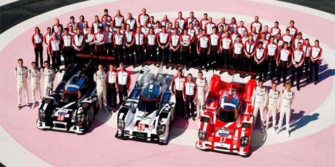 Состоялась премьера Porsche 919 Hybrid 2015