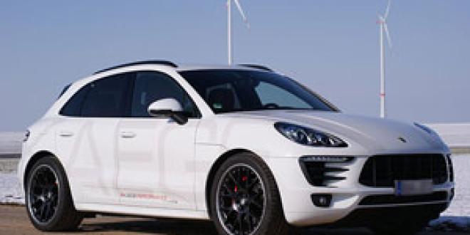 Апгрейд Porsche Macan Diesel от Kaege
