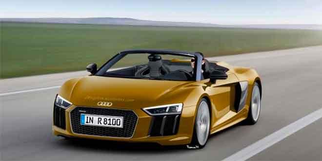 Еще один рендер Audi R8 Spyder