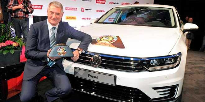 Новый VW Passat выиграл в номинации «Автомобиль 2015 года» в Европе